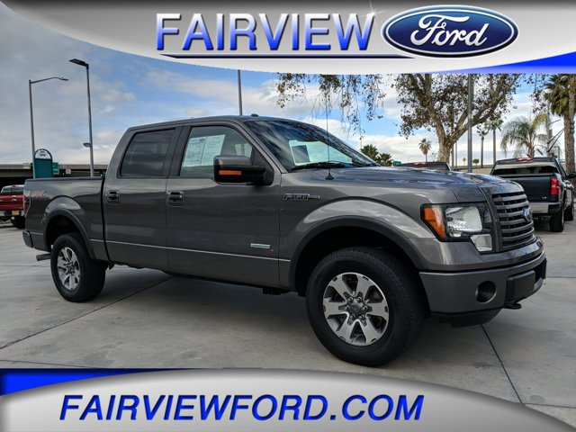 """2012 Ford F-150 4WD SuperCrew 145"""" FX4 STERLING GRAY METALLIC"""
