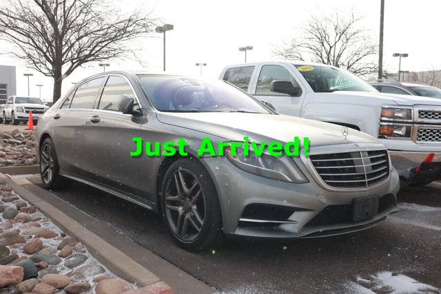 2014 Mercedes-Benz S-Class 4dr Sdn S550 4MATIC Anthracite Blue