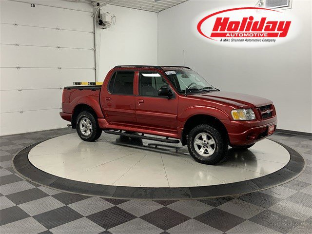 2005 Ford Explorer Sport Trac RED Four Wheel Drive