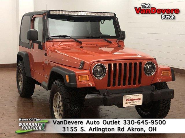 2006 Jeep Wrangler 2dr X ORANGE Intermittent Wipers