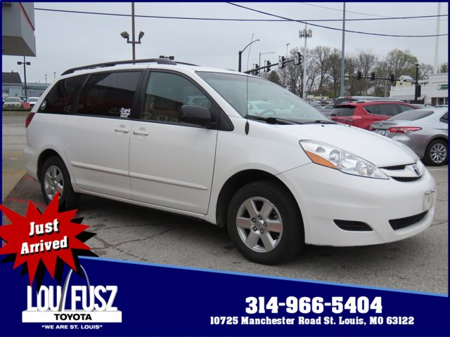 2008 Toyota Sienna 5dr 7-Pass Van LE FWD ARCTIC FROST PEARL