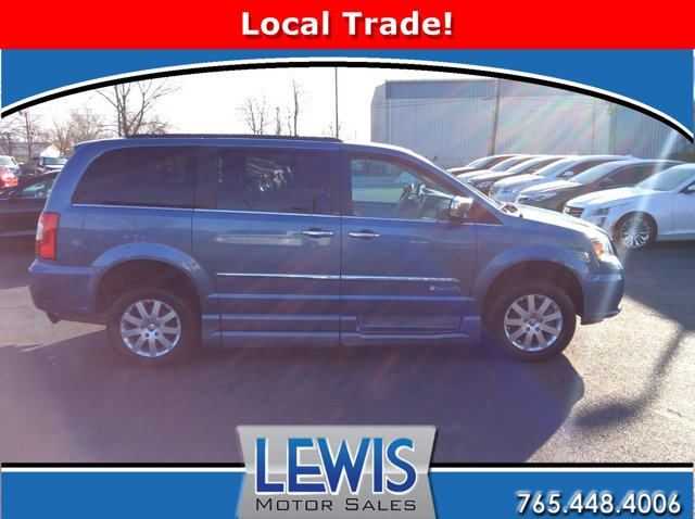 2012 Chrysler Town & Country 4dr Wgn Touring-L Sapphire Crystal