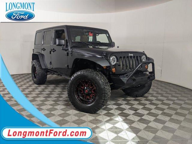 2011 Jeep Wrangler Unlimited 4WD 4dr Rubicon BLACK