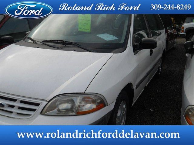 """2000 Ford Windstar Cargo Van 121"""" WB VIBRANT WHITE"""