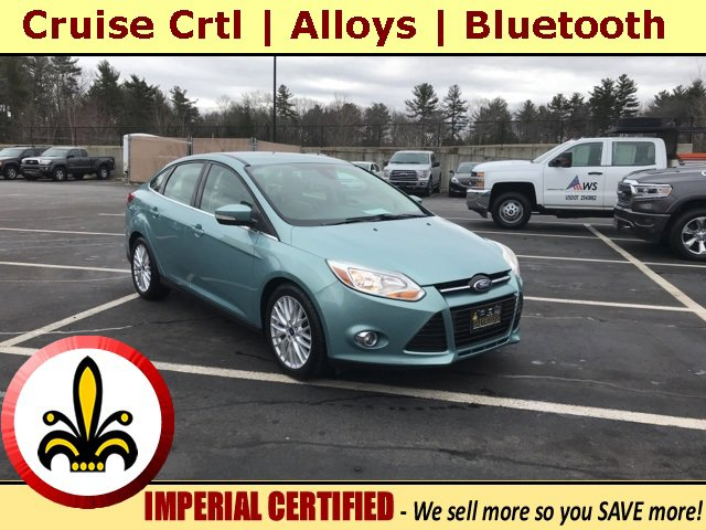 2012 Ford Focus 4dr Sdn SEL BLUE CD Player Bucket Seats