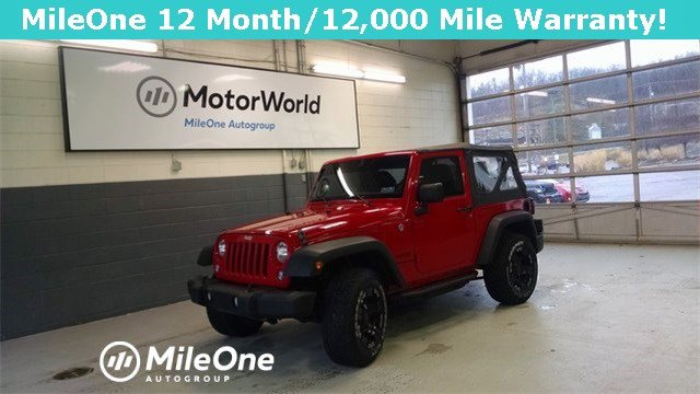 2014 Jeep Wrangler 4WD 2dr Sport FLAME RED CLEARCOAT