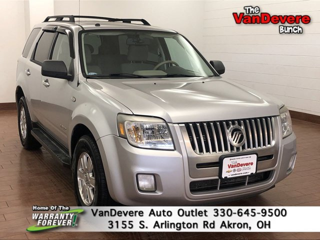 2008 Mercury Mariner FWD 4dr V6 SILVER METALLIC CLEARCOAT