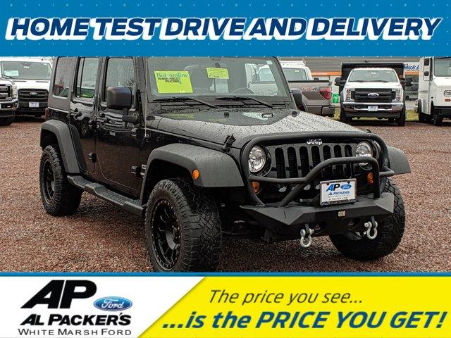 2013 Jeep Wrangler Unlimited 4WD 4dr Sport BLACK