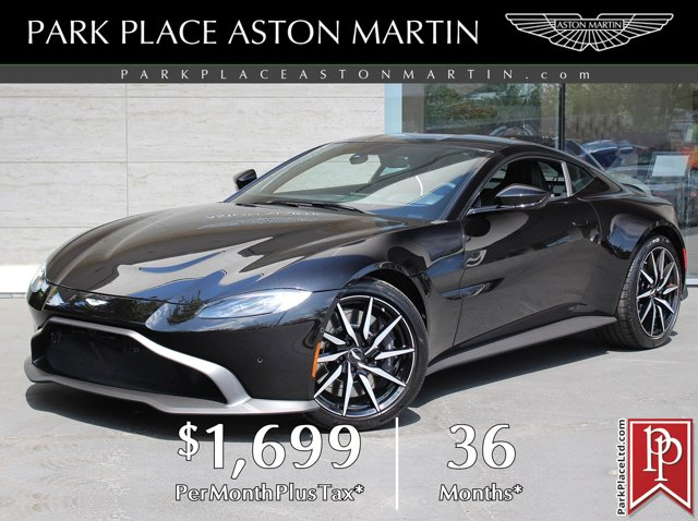 2020 Aston Martin Vantage 2-Door Coupe ONYX BLACK