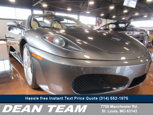 2008 Ferrari 430 2dr Convertible Spider GRAY