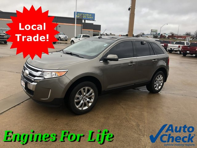 2013 Ford Edge 4dr Limited FWD GRAY Bucket Seats