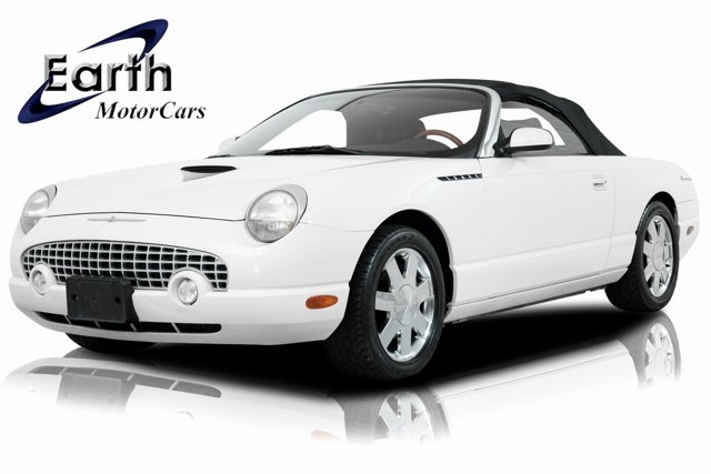2002 Ford Thunderbird WHITE CD player Bumpers: body-color