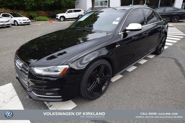 2016 Audi S4 4DR SDN S TRONIC PREMIUM PLUS BRILLIANT BLACK