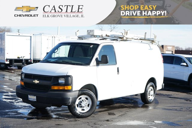 "2014 Chevrolet Express Cargo Van RWD 3500 135"" SUMMIT WHITE"