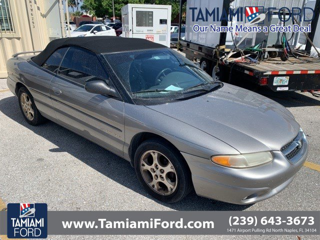 1998 Chrysler Sebring 2dr Convertible JXi BEIGE / TAN
