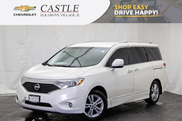 2013 Nissan Quest 4dr SL WHITE PEARL Automatic Headlights