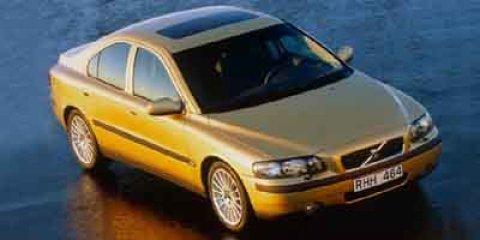 2001 Volvo S60 2.4 A SR 4dr Sdn Auto w/Sunroof SILVER METALLIC