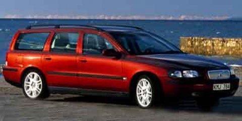 2001 Volvo V70 SILVER METALLIC Cloth Seats Climate Control