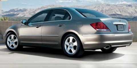 2007 Acura RL 4dr Sdn AT BLUE Brake Assist Auxiliary Audio Inpu
