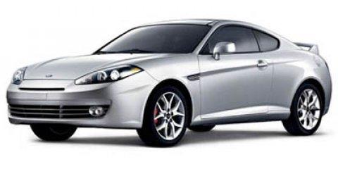 2007 Hyundai Tiburon 2dr Cpe V6 Manual SE SILVER