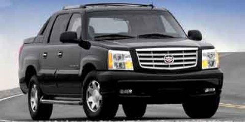 2002 Cadillac Escalade EXT 4dr AWD SABLE BLACK