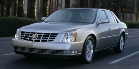 2008 Cadillac DTS 4dr Sdn w/1SA BLACK RAVEN Bucket Seats