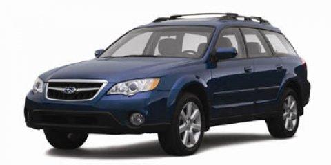 2008 Subaru Outback 4dr H4 Auto 2.5i BLUE AM/FM radio