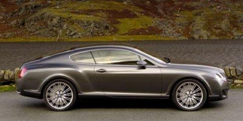 2010 Bentley Continental GT 2dr Cpe BLACK