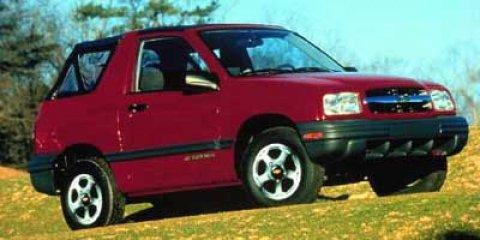 2000 Chevrolet Tracker 2dr Convertible 4WD MEDIUM GREEN METALLI