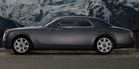 2011 Rolls-Royce Phantom Coupe 2dr Cpe BLUE CD Changer