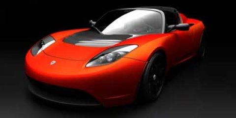 2008 Tesla Roadster 2dr Conv Radiant Red Metallic