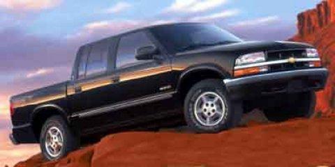 "2002 Chevrolet S-10 Crew Cab 123"" WB 4WD LS ONYX BLACK"