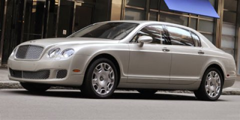 2012 Bentley Continental Flying Spur 4dr Sdn Beluga Solid