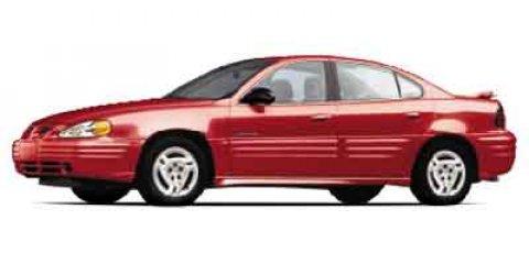 2002 Pontiac Grand Am 4dr Sdn GT ARCTIC WHITE Child Safety Lock