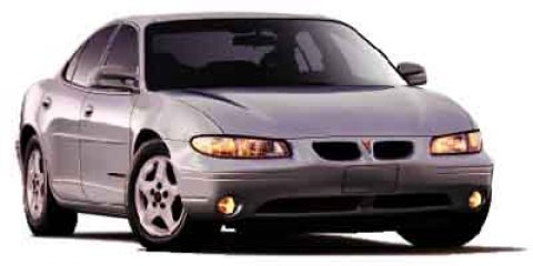 2002 Pontiac Grand Prix 4dr Sdn SE SILVER Daytime Running Light