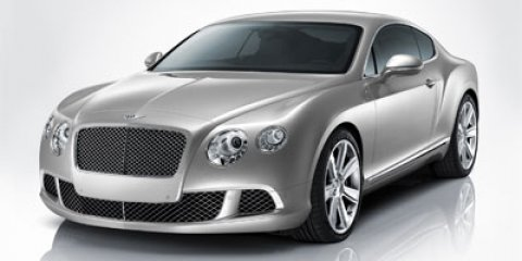 2012 Bentley Continental GT 2dr Cpe SILVER