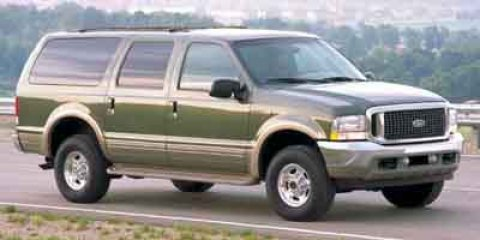 "2002 Ford Excursion 137"" WB 7.3L XLT 4WD GREEN"