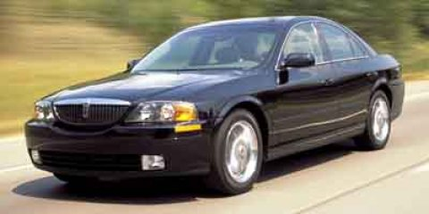 2002 Lincoln LS 4 DOOR SEDAN BLUE AM/FM Stereo