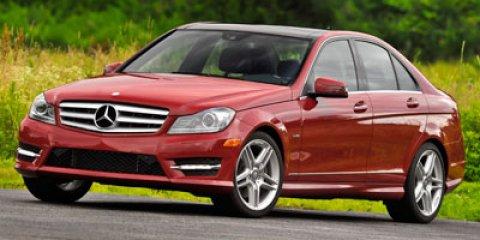 2012 Mercedes-Benz C-Class GRAY Brake Assist