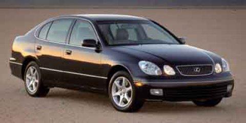 2002 Lexus GS 300 4dr Sdn SILVER Cassette Bucket Seats