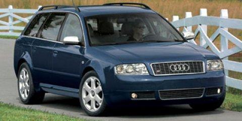 2002 Audi S6 4dr Wgn Avant quattro AWD SILVER Cargo Shade