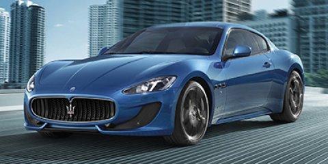 2013 Maserati GranTurismo 2dr Cpe GranTurismo Sport Blu