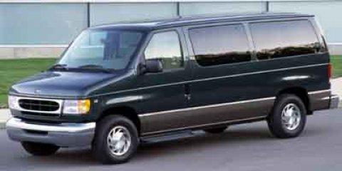 2002 Ford Econoline Wagon SILVER
