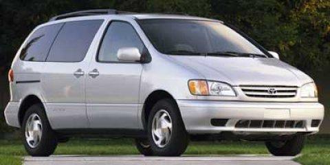 2002 Toyota Sienna 5dr CE GREEN Cloth Seats Child Safety Locks