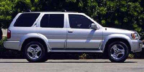 2002 Infiniti QX4 4dr SUV Luxury Child Safety Locks CD Player