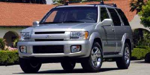 2003 Infiniti QX4 4dr SUV Luxury Driver Adjustable Lumbar