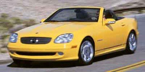 2002 Mercedes-Benz SLK-Class 2dr Kompressor Roadster 2.3L SILVE
