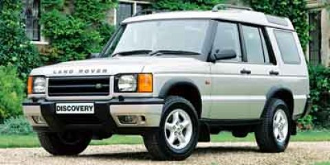 2002 Land Rover Discovery Series II 4dr Wgn SD GOLD