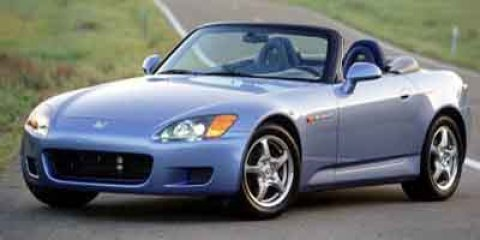 2002 Honda S2000 2dr Conv Emergency Trunk Release Driver Air Ba