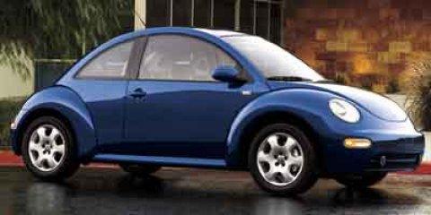 2002 Volkswagen New Beetle BLUE Bucket Seats AM/FM Stereo